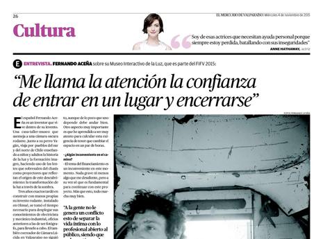 El Mercurio de Valparaíso. 04/nov.