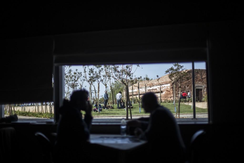 Visionado de Portafolios, día domingo. Fotos de Javier Álvarez.
