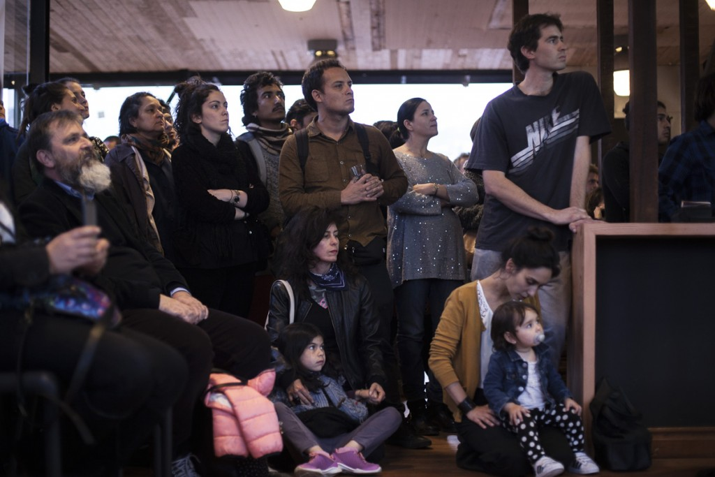 Presentacion de La Visita - Rain de Manuel Castillo. Fotos de Javier Álvarez.