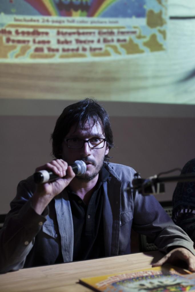 DJ BOOK con Miguel Angel Felipe (Chile). Fotos de Javier Álvarez.