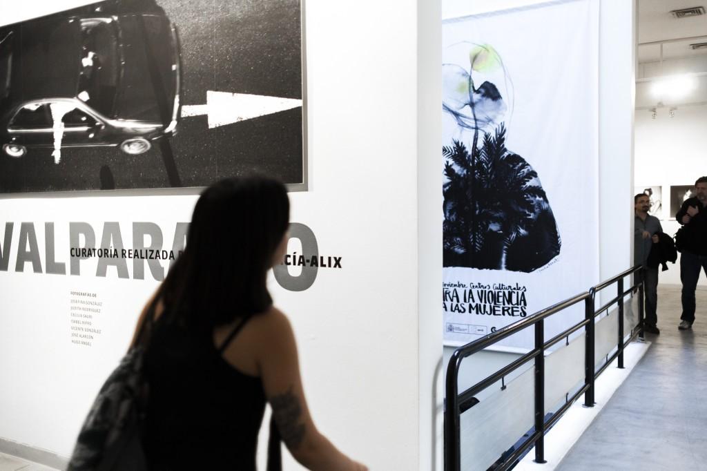 "Exposición ""Valparaíso"" - CCE Santiago. Fotos de Javier Alvarez."