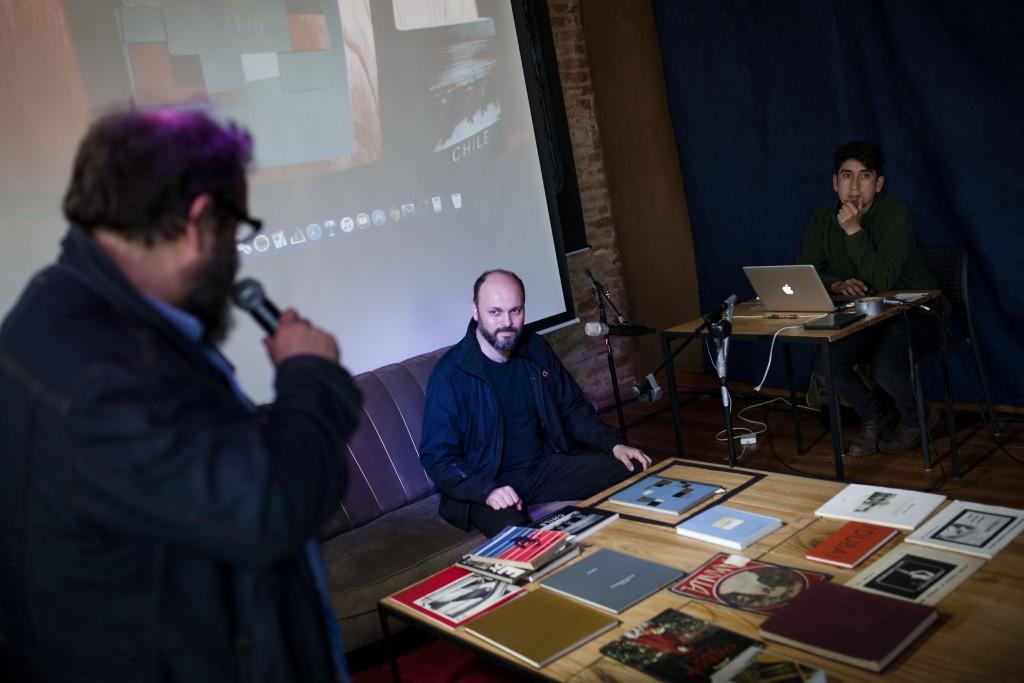 DJ BOOK con Jorge Gronemeyer (Chile). Fotos de Patricio Miranda.
