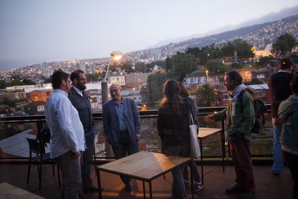 DJ BOOK con Claudio Pérez (Chile). Fotos de Patricio Miranda.