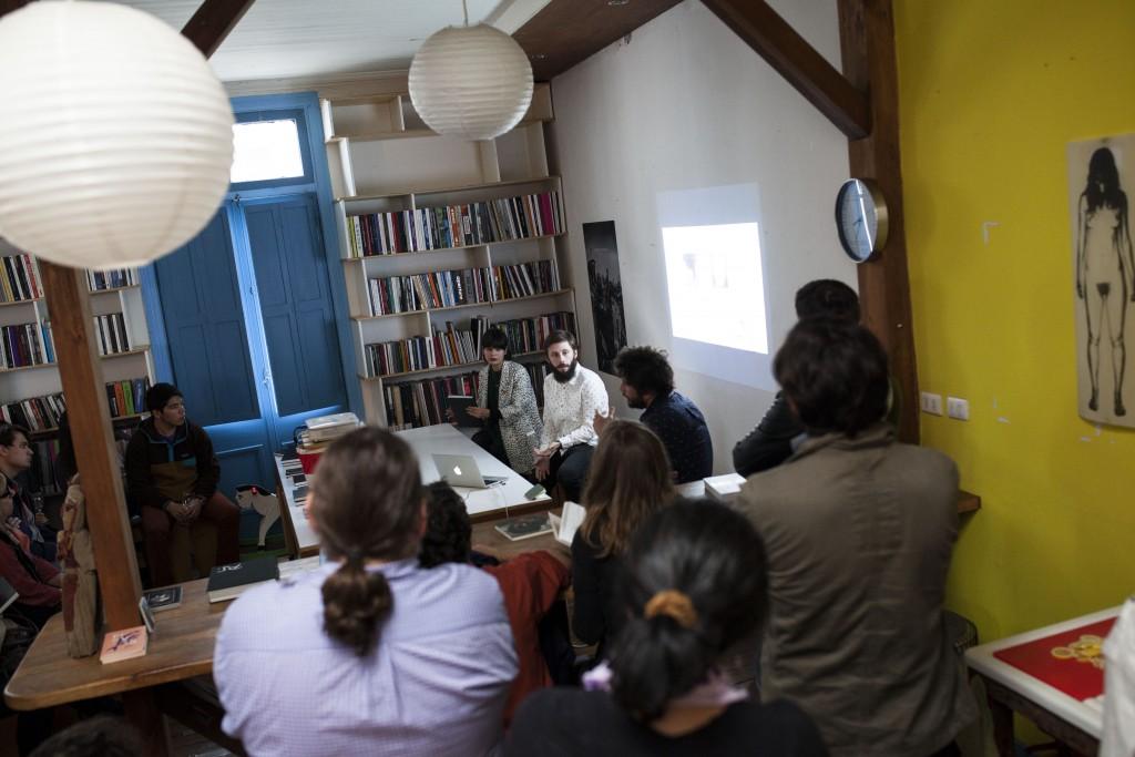 """Lanzamiento del Libro """"A-mor"""" de Cristóbal Olivares (Chile). Fotos de Patricio Miranda."""