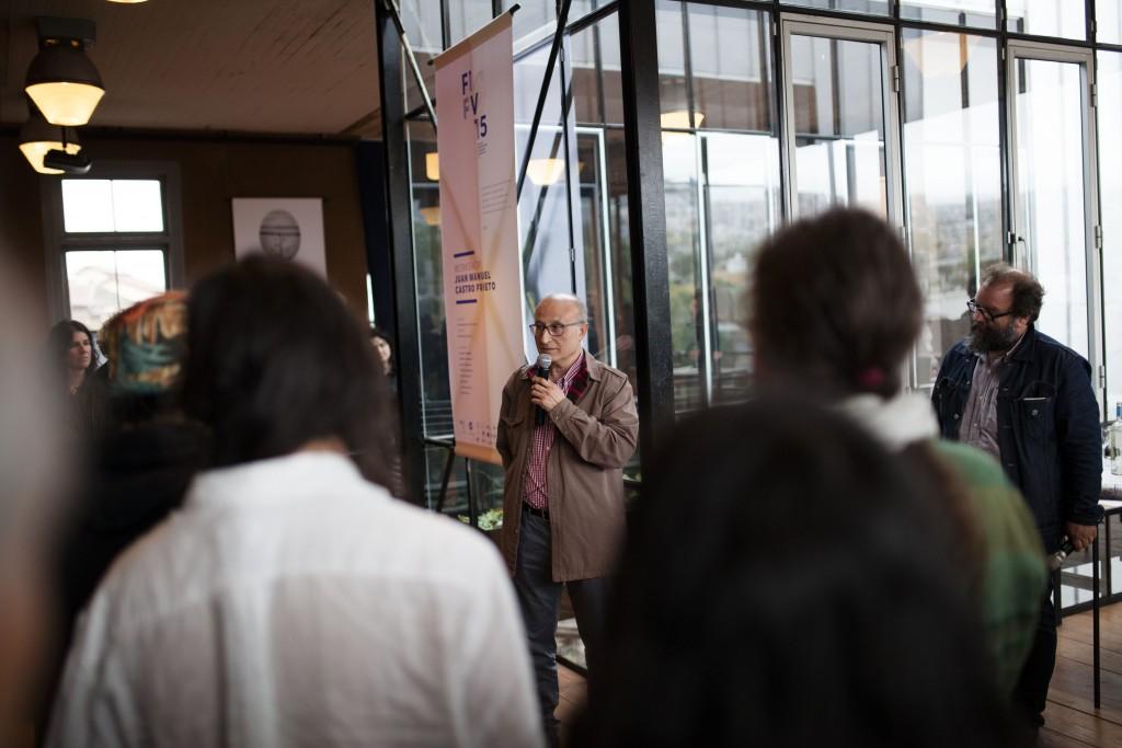 Inauguración de la Exposición del Workshop de Juan Manuel Castro Prieto. Fotos de Patricio Miranda.