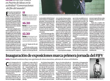 Mercurio de Valparaíso. 31/oct.
