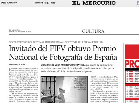 El Mercurio. 07/nov.