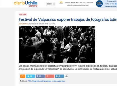 Diario U. de Chile. 29/oct.